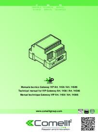 1456/ 1456S manual