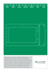 Comelit Technical Manual for Maxi Monitor (Simplebus)