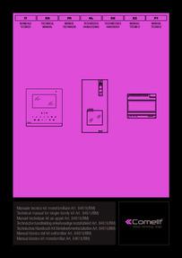 Comelit 8461I Manual