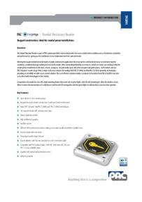 PAC Oneprox DDA vandal resistant brochure