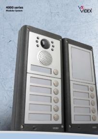 Videx 4000 series - Modular panels