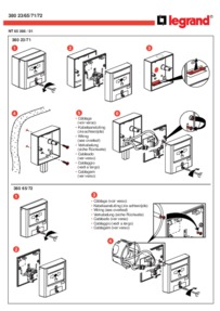 Bticino green break glass wiring diagram