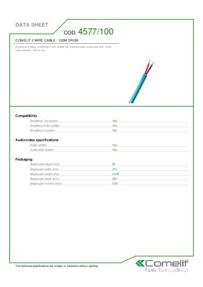 Comelit 4577/100 data sheet