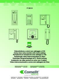 Comelit 4888C technical manual