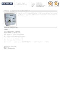Fermax 4954. 1 WAY VDS COLOUR SURFACE iLOFT KIT