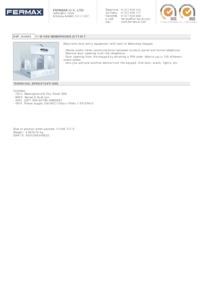 Fermax 4982. 1 WAY VDS MEMOPHONE AUDIO KIT