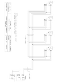 BPT wiring diagram - 4 handset intercom without entry panel.