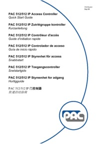 PAC 512-512IP user manual