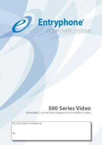 Entryphone diagrams for the Art.531V