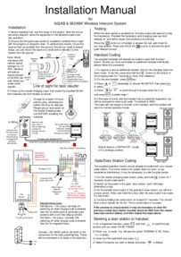 Installation instructions for 602-ABK
