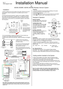 AES 603 Manual
