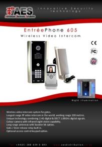 AES 605 range brochure