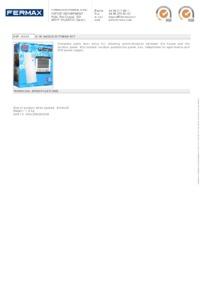 Fermax 6325. 2 WAY AUDIO CITYMAX KIT