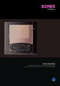 Elvox 6600 Series (monitor) brochure