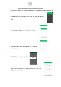 Comelit 6741W & 6742W App registration guide