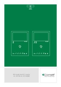 Comelit 6741W user manual