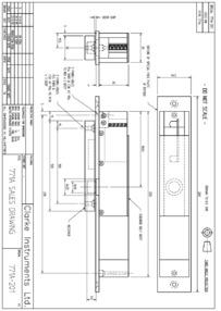 Clarke-Instruments 771 Technical Sheet