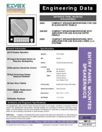 Elvox 6948 installation manual