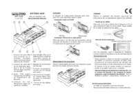 Fermax instructions for 8 MDS relay decoder Art. 2430