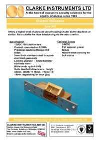 Clarke-Instruments 942 brochure