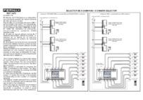 Fermax instructions for 8 camera selector Art. 02472