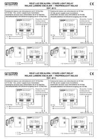 Fermax instructions for relay Art. 2008