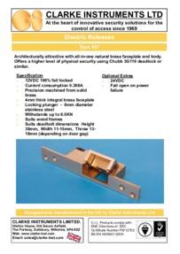Clarke-Instruments 957 brochure