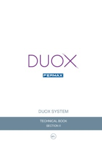 Fermax Duox 2 Wire System Technical Book Part 2, Wiring