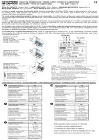 Fermax instructions for P.S.U Art. 4840