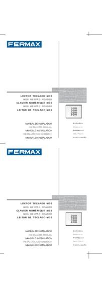 Fermax instruction for City MDS/AC keypad Art. 6994
