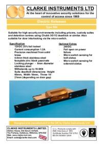 Clarke-Instruments 984 brochure