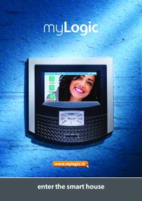 Farfisa brochure for My Logic monitors