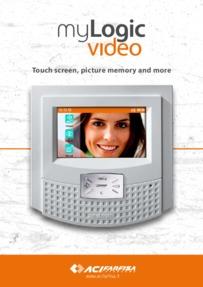 Farfisa brochure for MyLogic video receivers