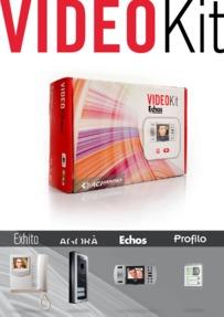 Farfisa brochure for VideoKIT line