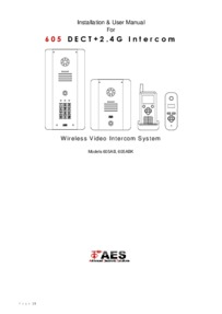 AES 605 Installation Manual