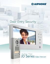 Aiphone JO Series video brochure