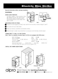 AL150_Electric Rim Strike Instructions Mar10