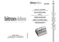 Bitron    AN5498 instructions