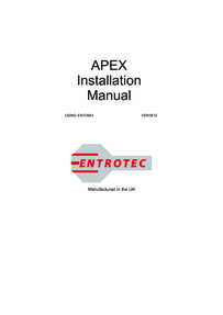 Entrotec installation guide for Apex and Elite Marshalling Audio