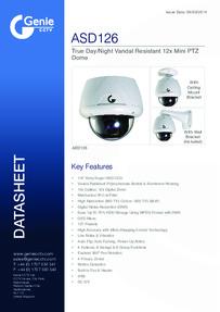 ASD126 Camera data sheet