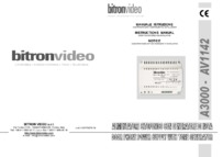 Bitron    AV1142 instructions