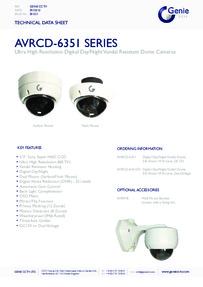AVRCD-6351 Camera data sheet