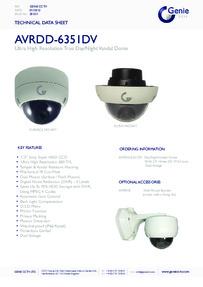 AVRDD-6351DV Camera data sheet