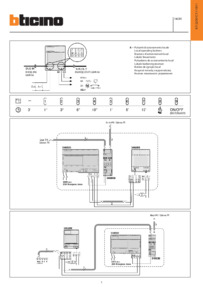 Bticino wiring diagram for 346200