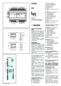Installation instructions for SI/200