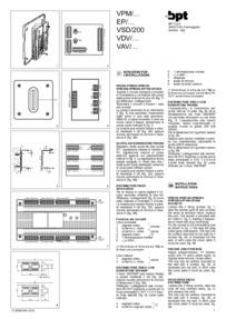BPT installation instructions for VAV dsitributors