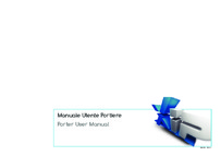 Porter user manual for Server ETI/SER Xip