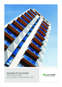Comelit building kit solutions brochure