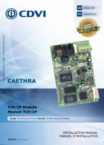 CDVI instructions for Art.CAETHRA