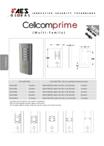 AES CELLCOM PRIME MULTI FAMILY brochure